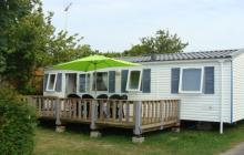 mobil-home mobilhome 3 chambres dans camping 3* avec piscine couverte