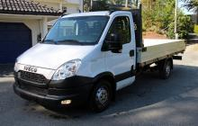 iveco daily 35s13 plateau ridelle